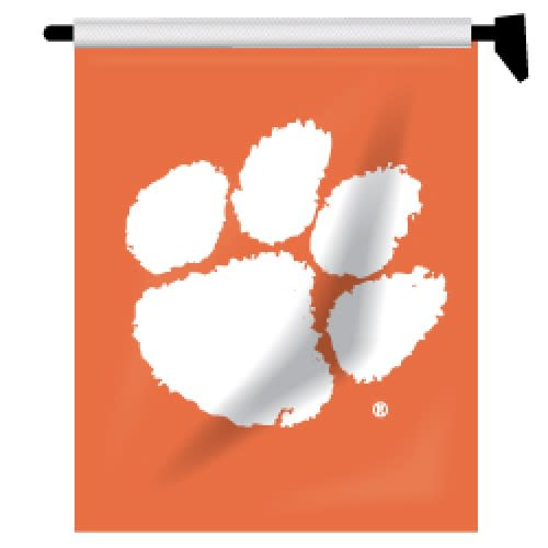 Garden/mailbox Flag Orange With White Paw - Mr. Knickerbocker