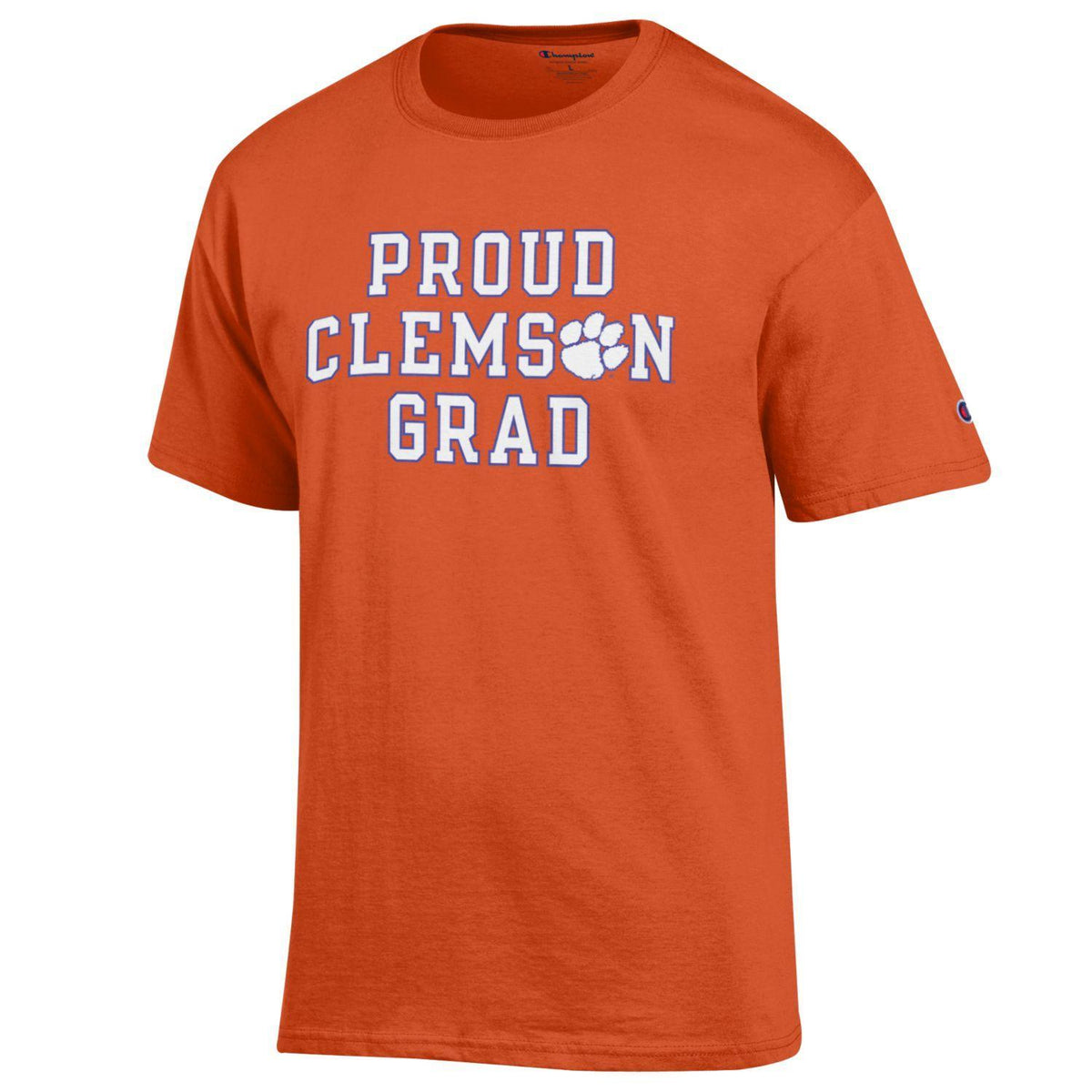 Champion Proud Clemson Grad/CU Later Tee - Mr. Knickerbocker