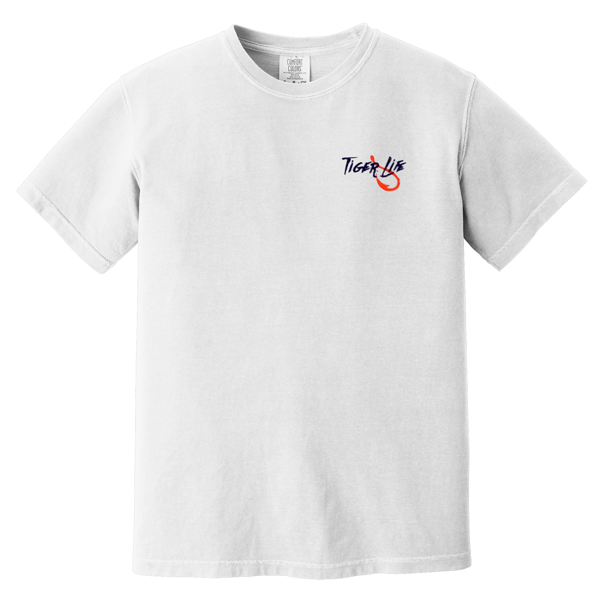 Comfort Colors Tiger Life Get Hooked Tee