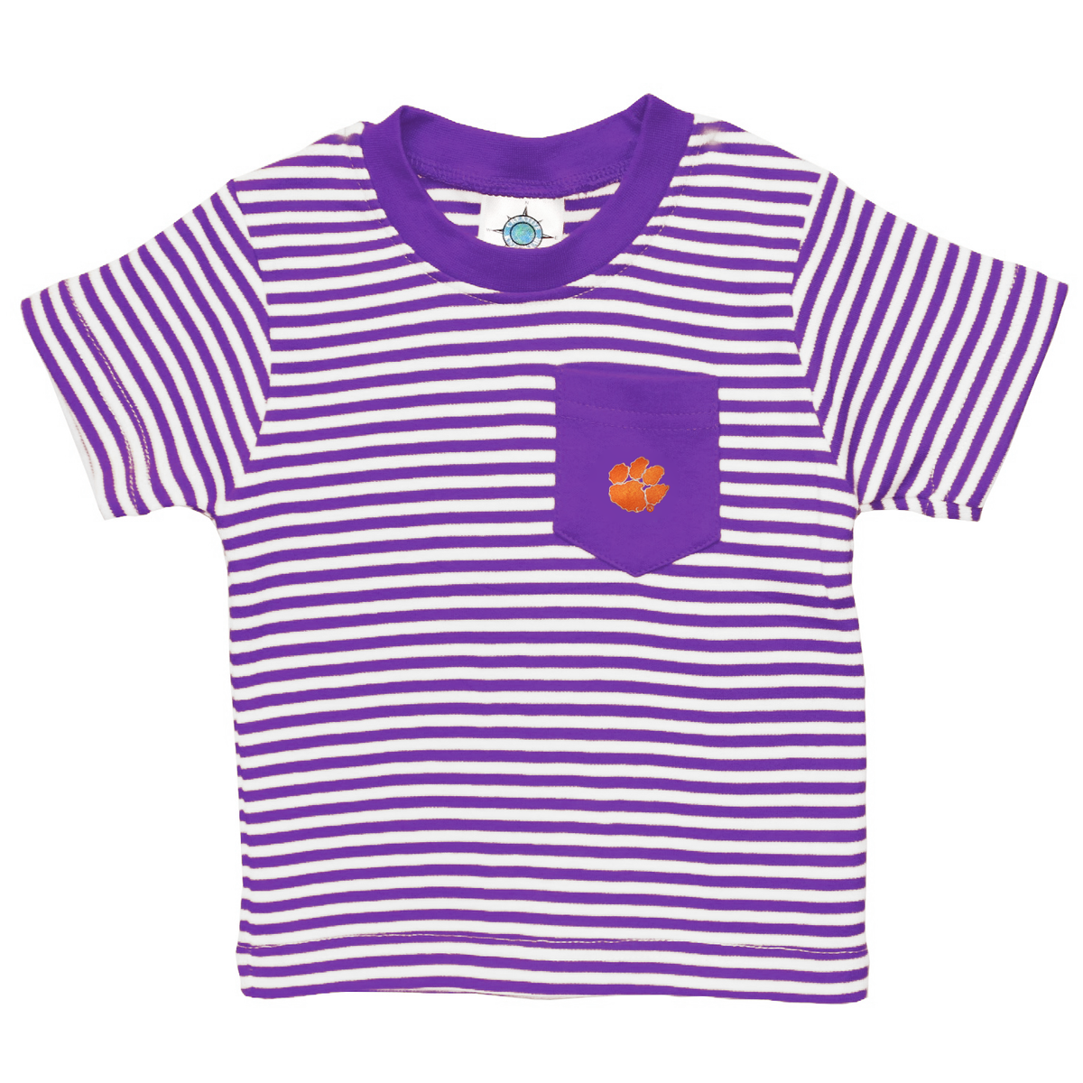 Toddler Stripe Pocket Tee