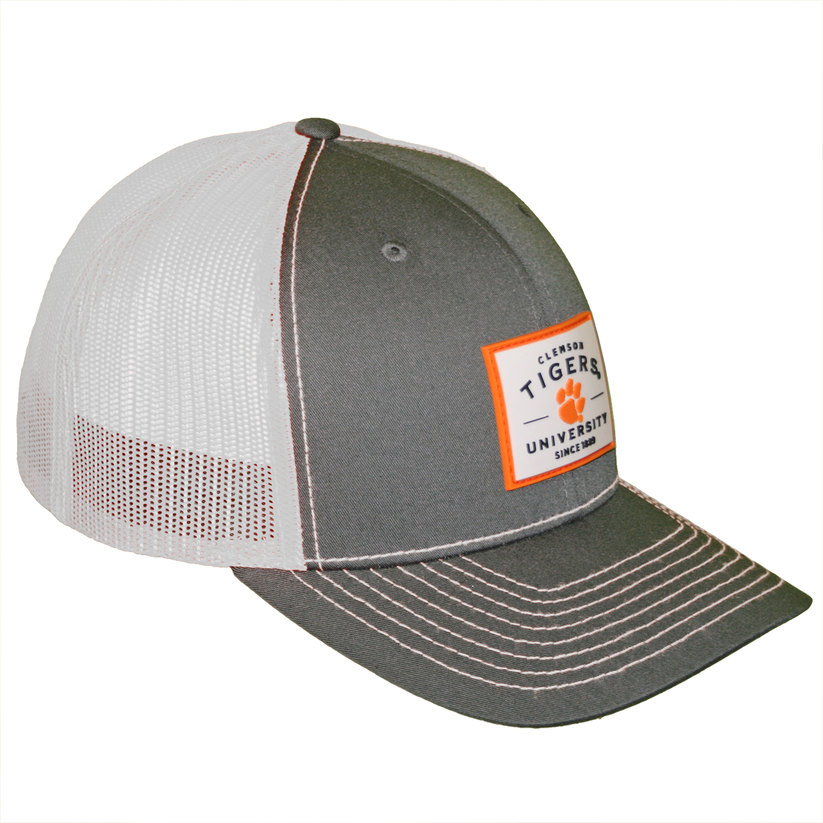 Rubber Patch With Orange Trim Cap Adjustable Fit