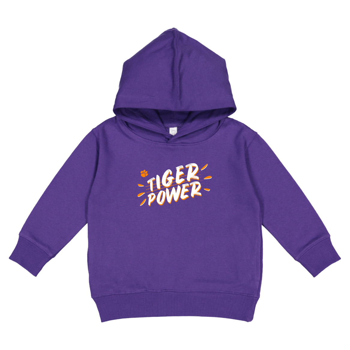 Toddler Hoodie Tiger Power