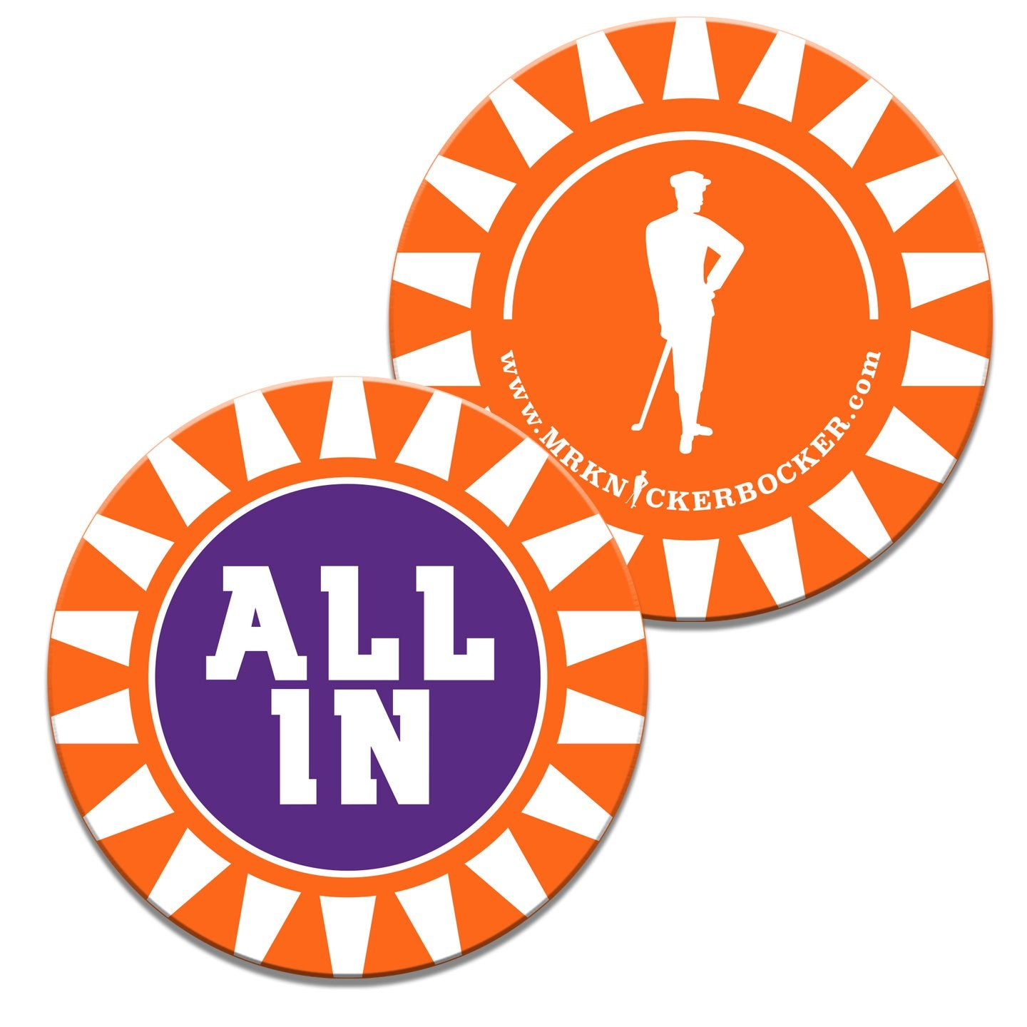 All In Mr. K Ball Marker - Mr. Knickerbocker