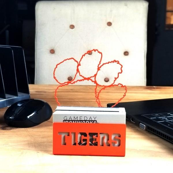 Clemson Wordmark Business Card Holder - Mr. Knickerbocker