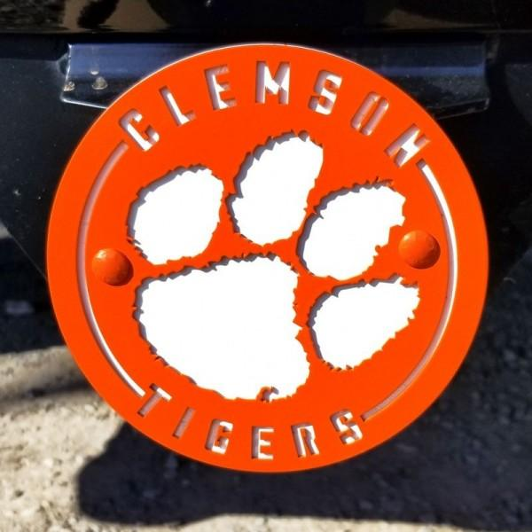 Clemson Tigers 2 Color Hitch Cover - Mr. Knickerbocker
