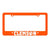 Gameday Ironworks Clemson Tigers License Plate Frame - Mr. Knickerbocker