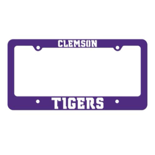 Gameday Ironworks Clemson License Plate Frame - Mr. Knickerbocker