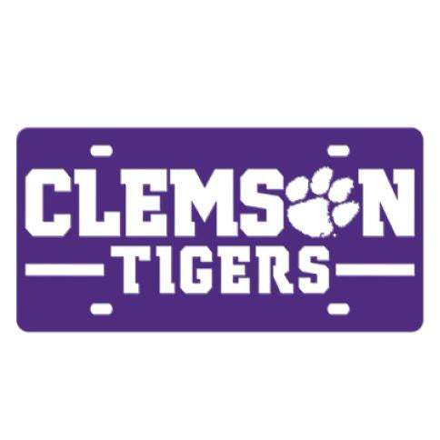Gameday Ironworks Clemson Tigers License Plate - Mr. Knickerbocker