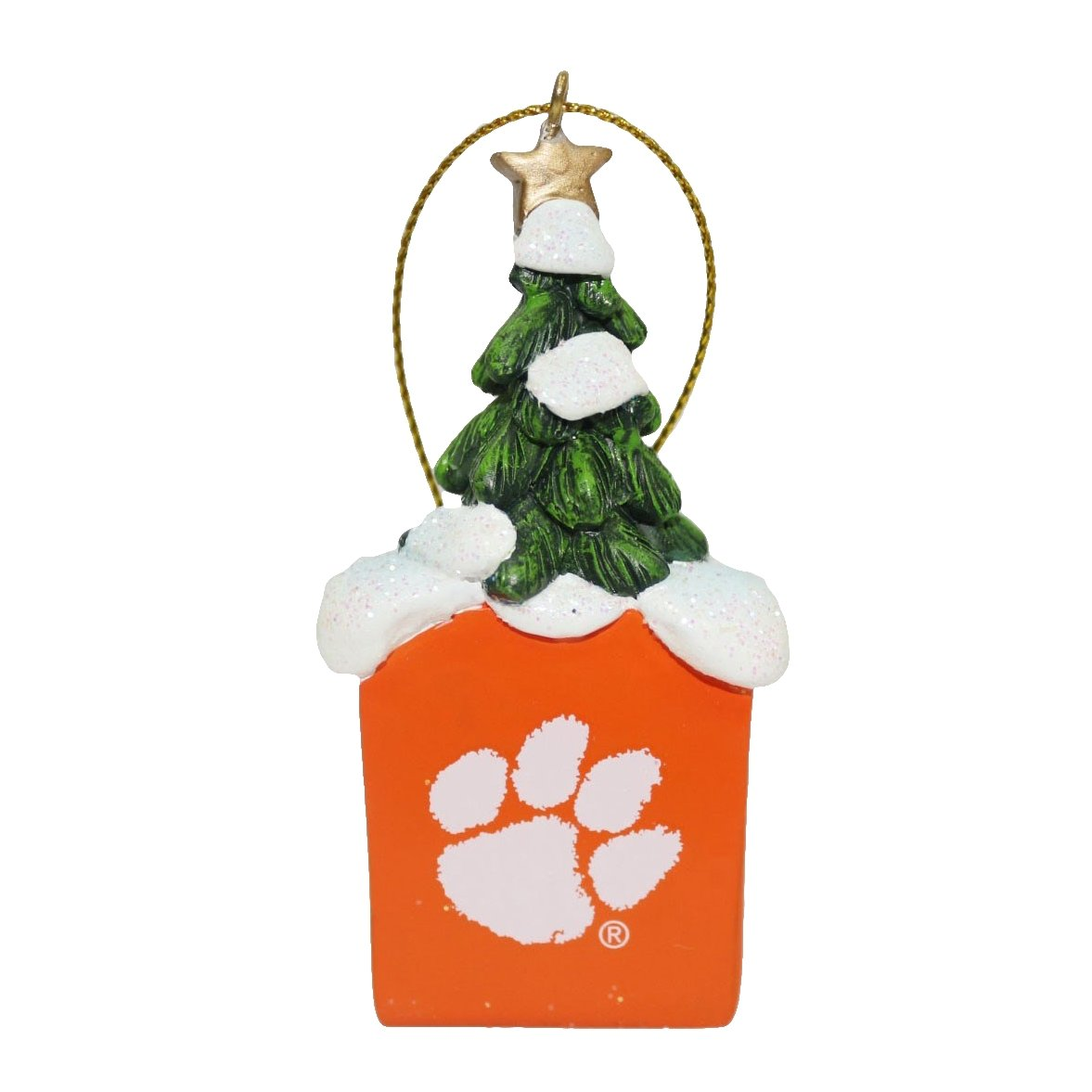 "3"" Resin Tree Logo Ornament - Mr. Knickerbocker"