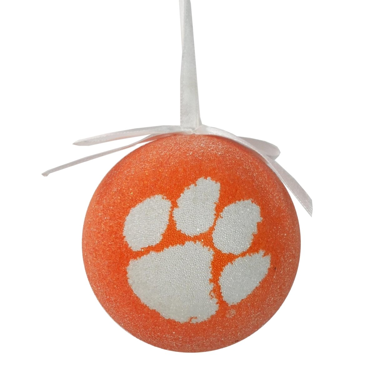 "3"" Styrofoam Ball Ornament With White Paw - Mr. Knickerbocker"
