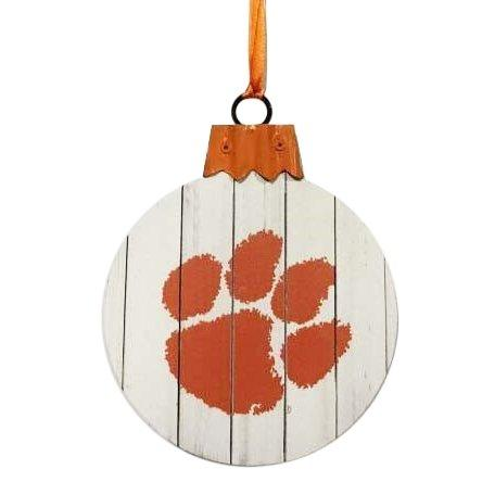 "4.5"" Mdf Slat Board Ball Ornament - Mr. Knickerbocker"