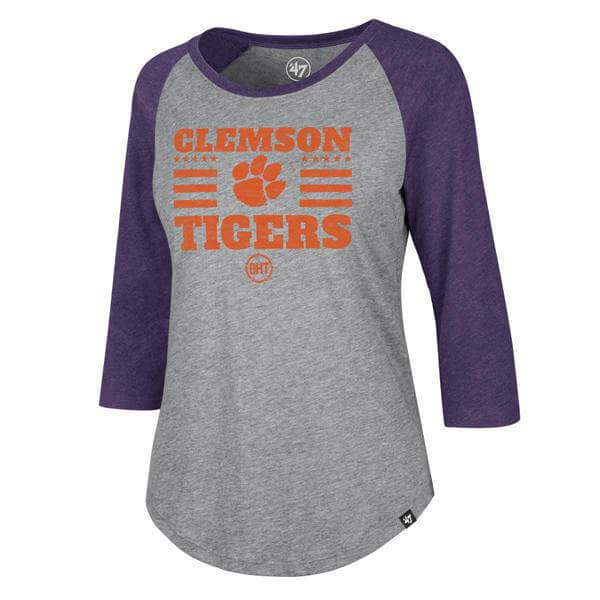 47 Operation Hat Trick Clemson Tigers Club Raglan T-shirt - Mr. Knickerbocker