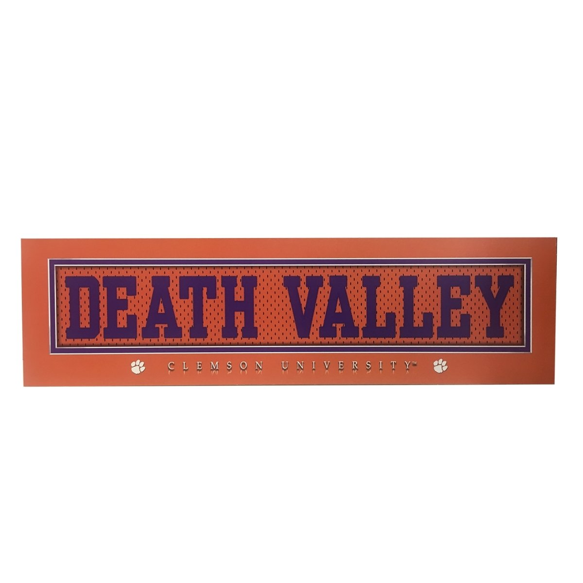 "5.5"" X 20"" Stitched Uniform Death Valley Plaque - Mr. Knickerbocker"