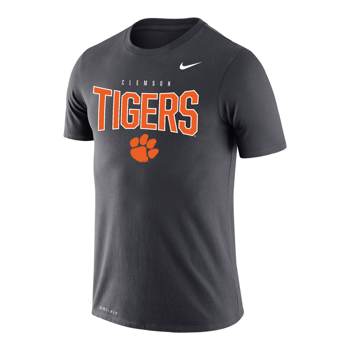 Nike Dri-fit Cotton Tee Clemson Tigers