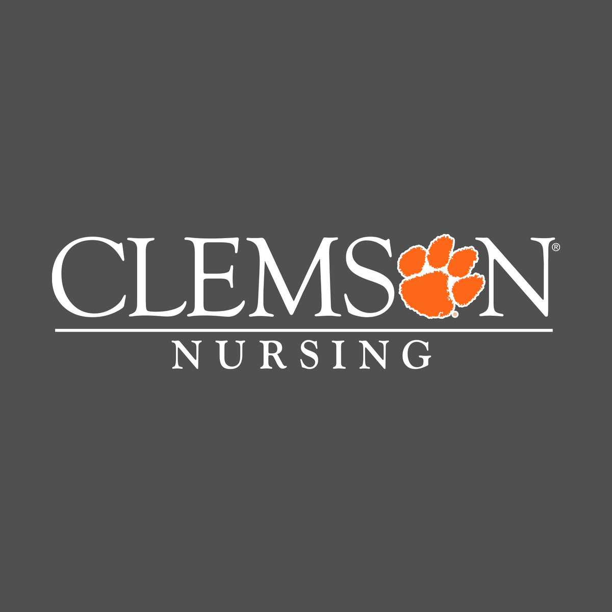 SDS Design Clemson University Stacked Decal