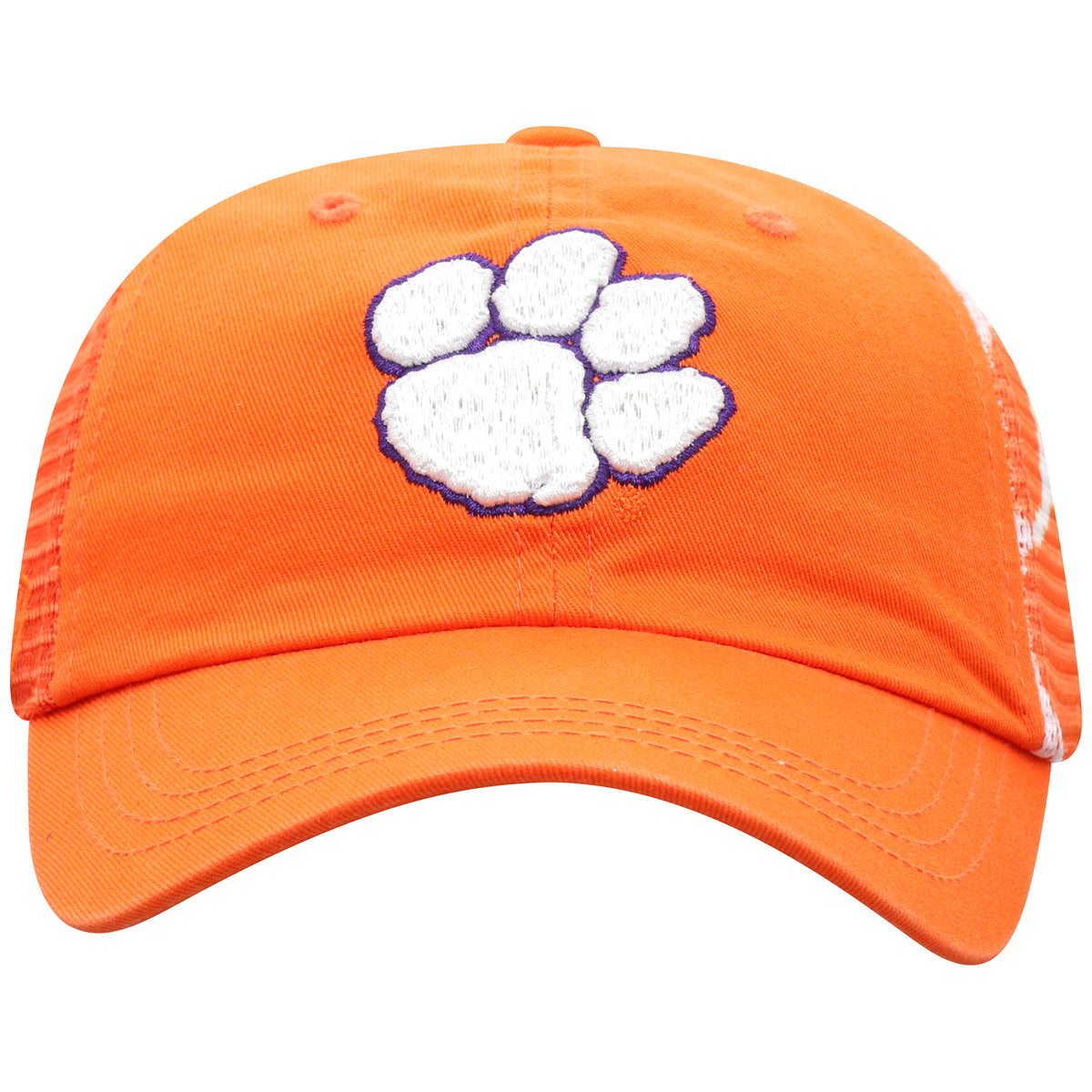 Top of the World Clemson Tigers Holla Mesh Panel Adjustable Hat