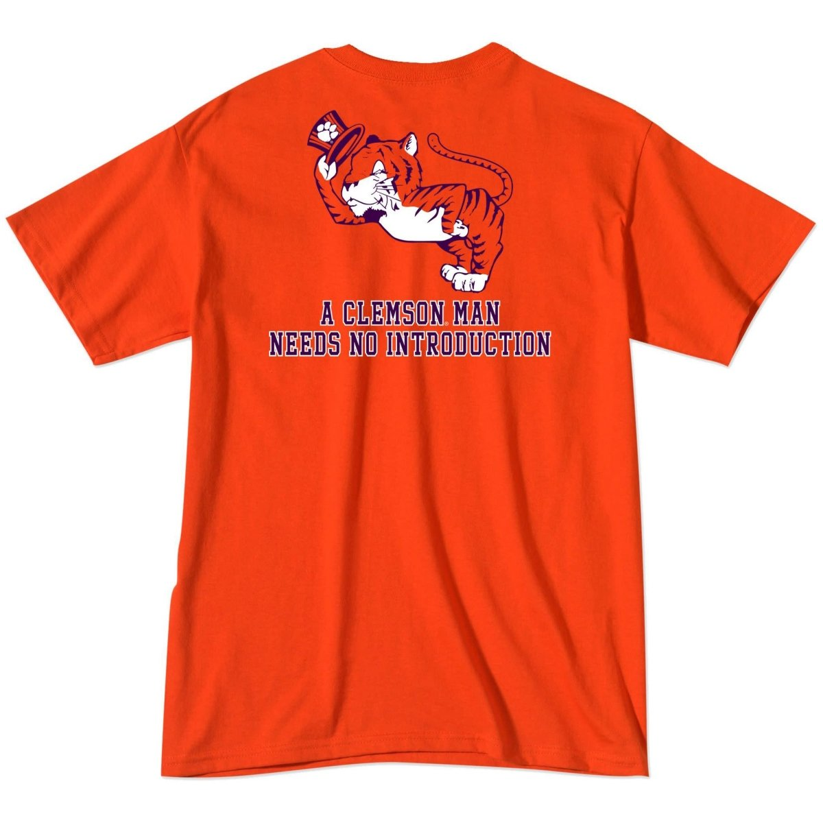 A Clemson Man Needs No Introduction Tee - Mr. Knickerbocker
