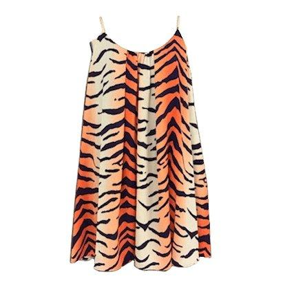 Adrienne Inc Tiger Stripe Swing Dress With Pockets - Mr. Knickerbocker