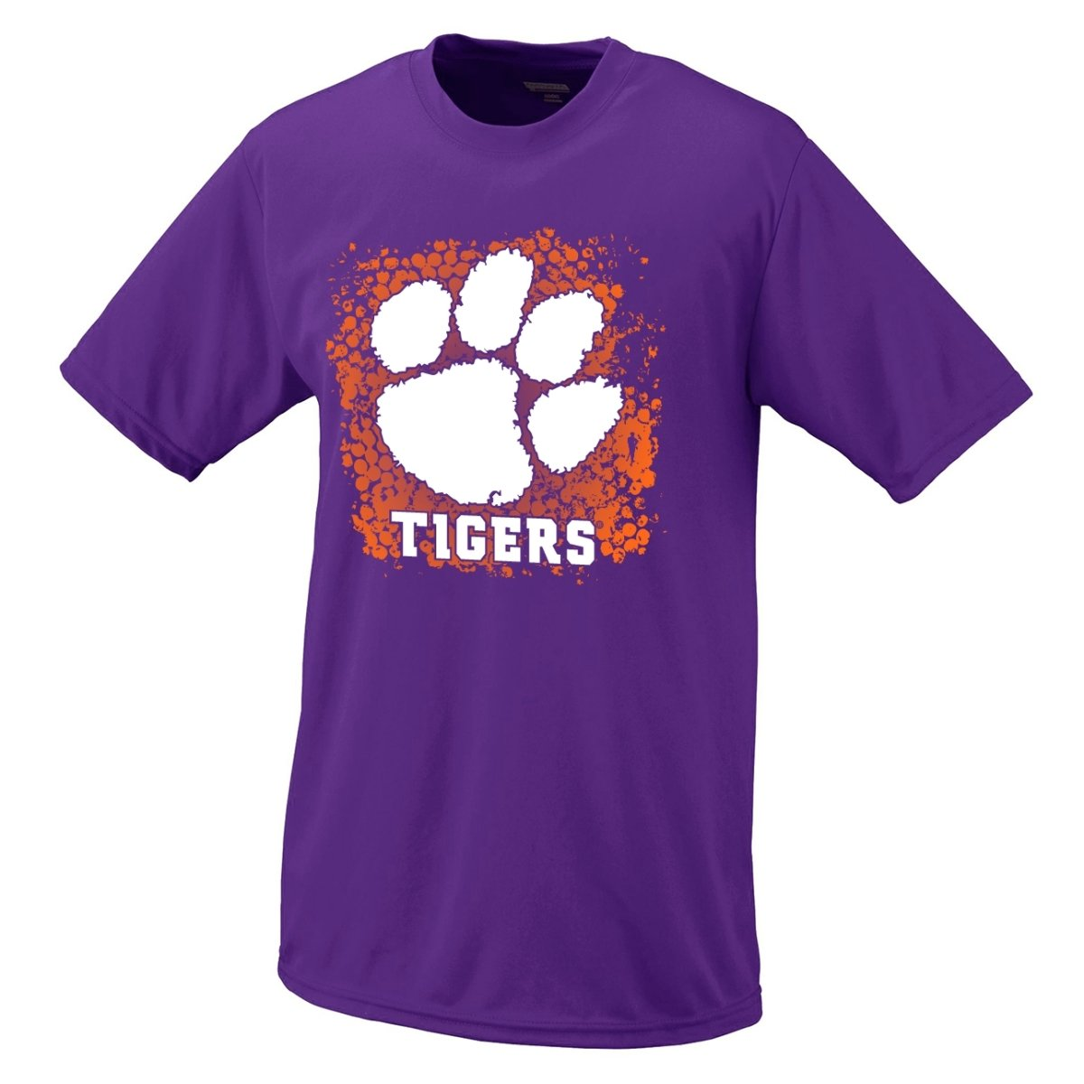 Adult Dri-fit Dot Paw Tiger Tee - Mr. Knickerbocker
