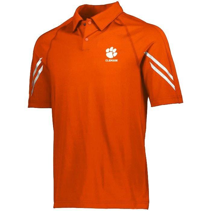 Augusta Sportswear Clemson Tigers Flux Polo - Mr. Knickerbocker