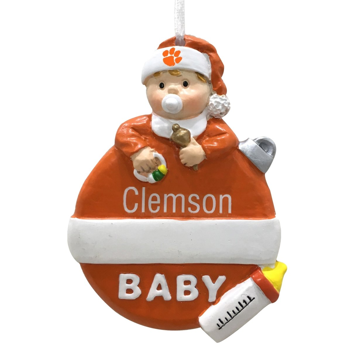 Baby's First Christmas Ornament - Mr. Knickerbocker