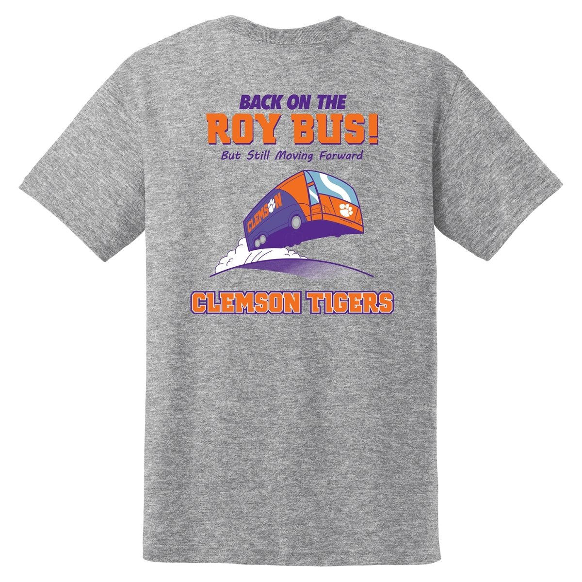 Back on the Roy Bus Tee - Mr. Knickerbocker
