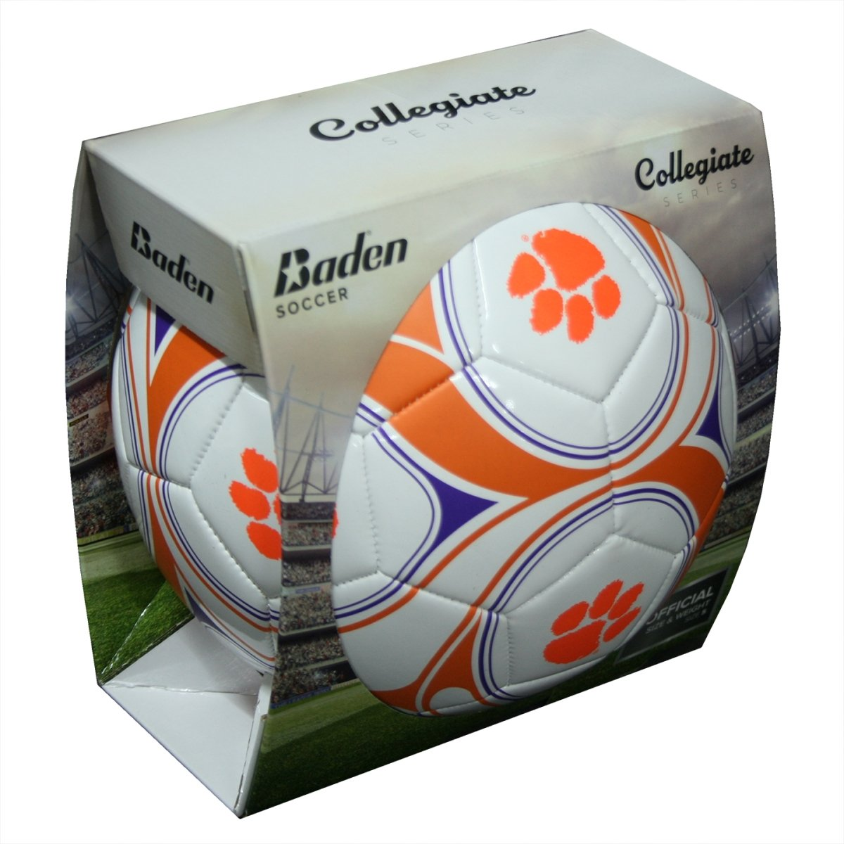 Baden Soccer Ball With Orange Print - Mr. Knickerbocker