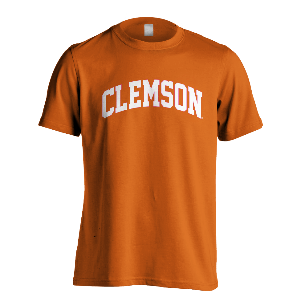 Basic Clemson Arch Tee - Mr. Knickerbocker