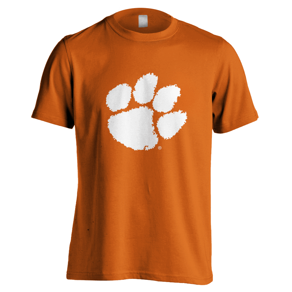 Basic Clemson Paw Youth Tee - Mr. Knickerbocker