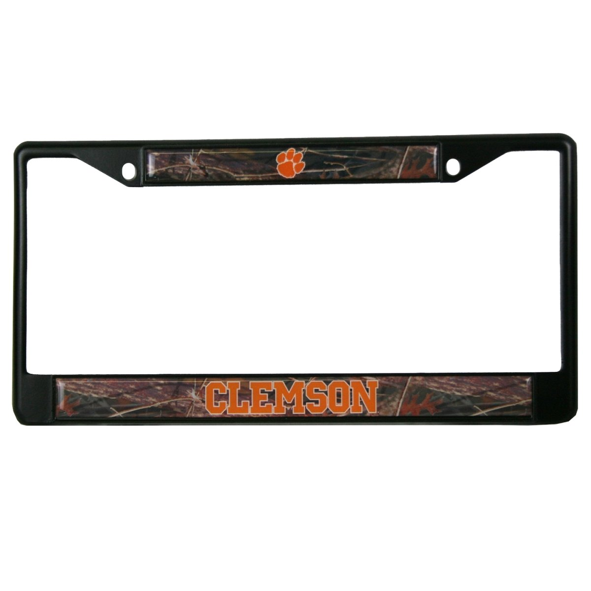 Black Metal Camo Car Tag Frame - Mr. Knickerbocker