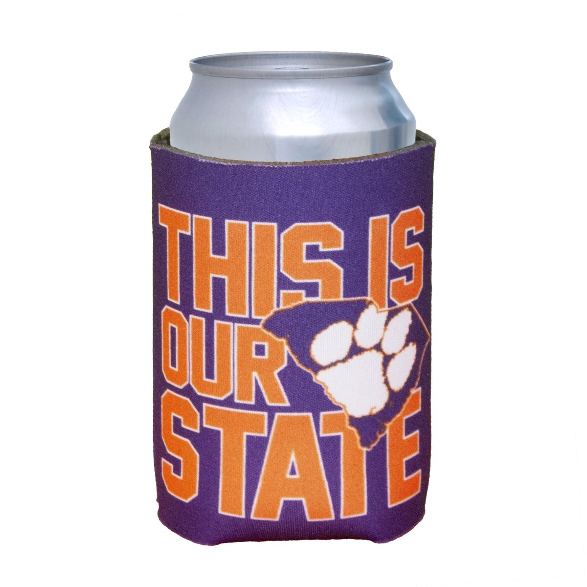 Can Koozie This Is Our State Purple - Mr. Knickerbocker