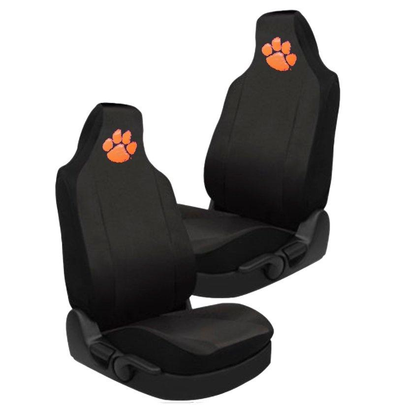 Car Seat Cover With Orange Paw - Mr. Knickerbocker