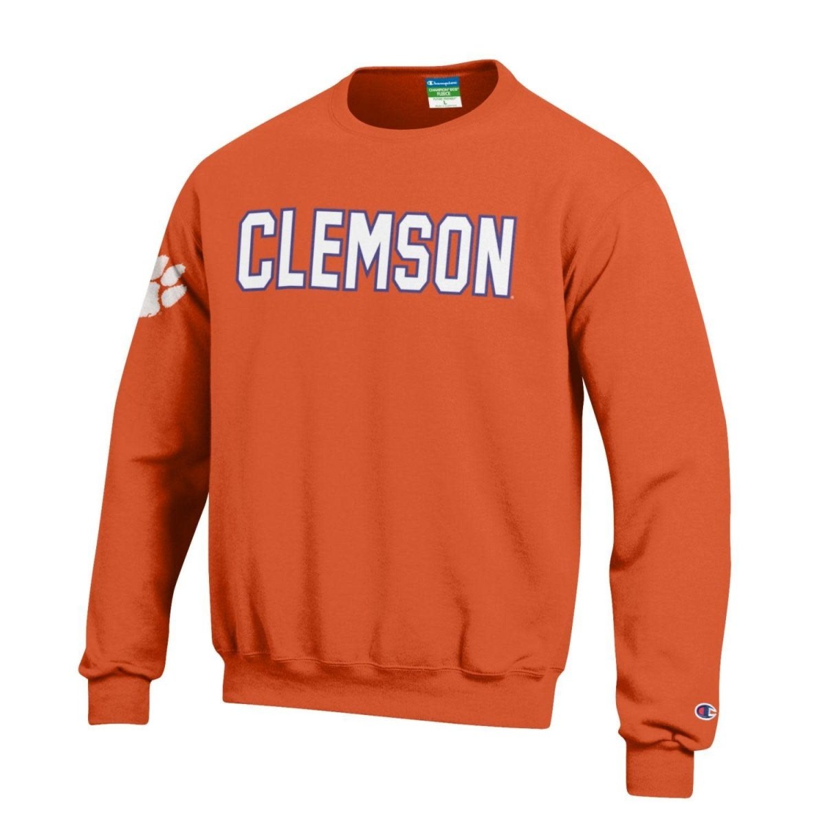 Champion Coach's Crew Fleece Tackle Twill Clemson/paw - Mr. Knickerbocker