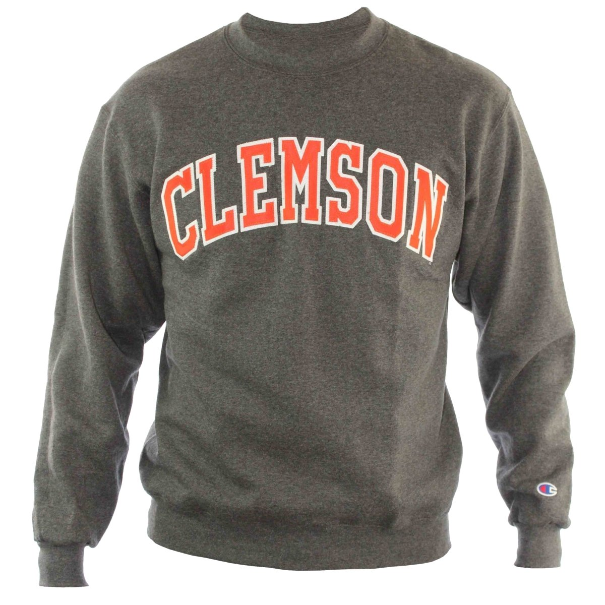 Champion Crew Fleece Tackle Twill Arch Clemson - Mr. Knickerbocker