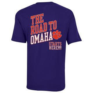 Champion Men's the Road to Omaha Starts Here Tee - Mr. Knickerbocker