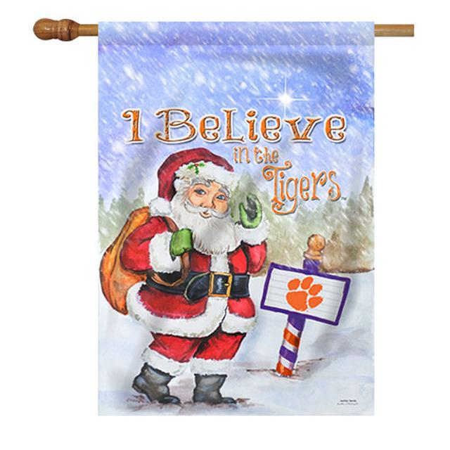 Christmas House Flag - I Believe in the Tigers 28''x40'' - Mr. Knickerbocker
