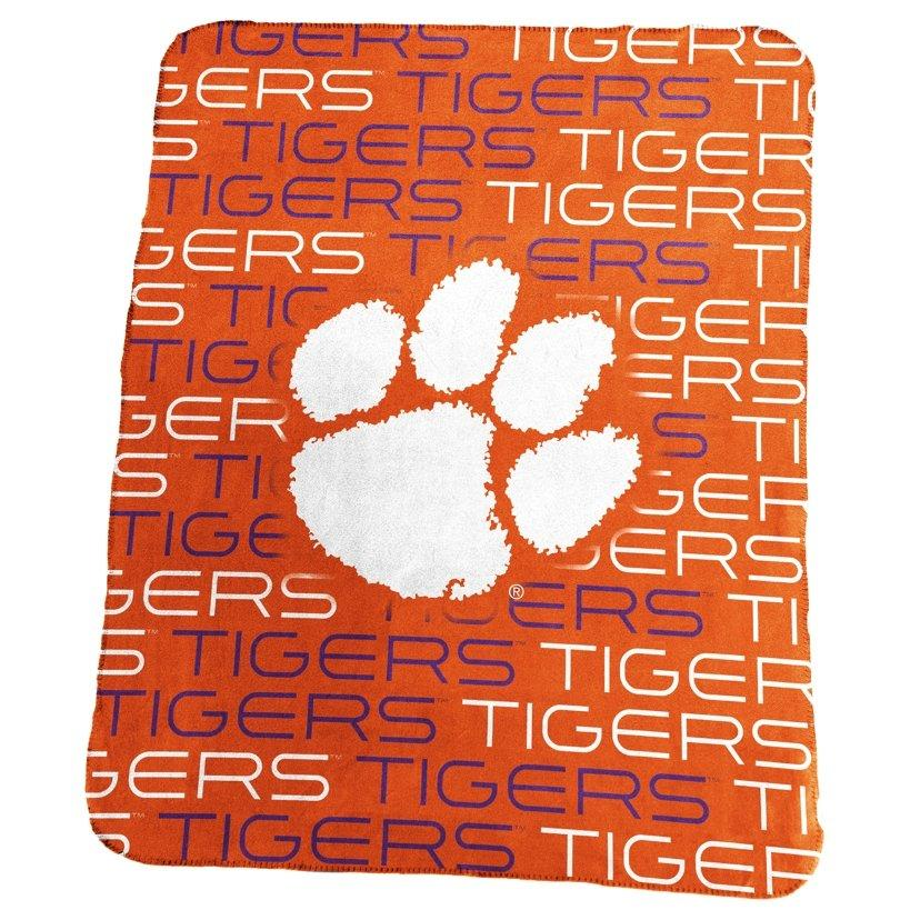 Classic Fleece Blanket - White Paw & All Over Tigers - Mr. Knickerbocker