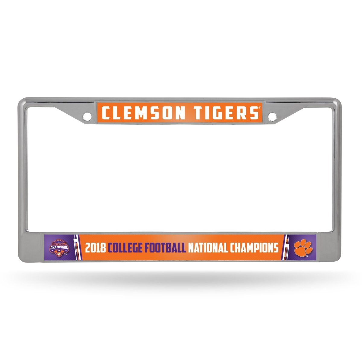 Clemson 2019 College Football Champions Chrome Frame - Mr. Knickerbocker