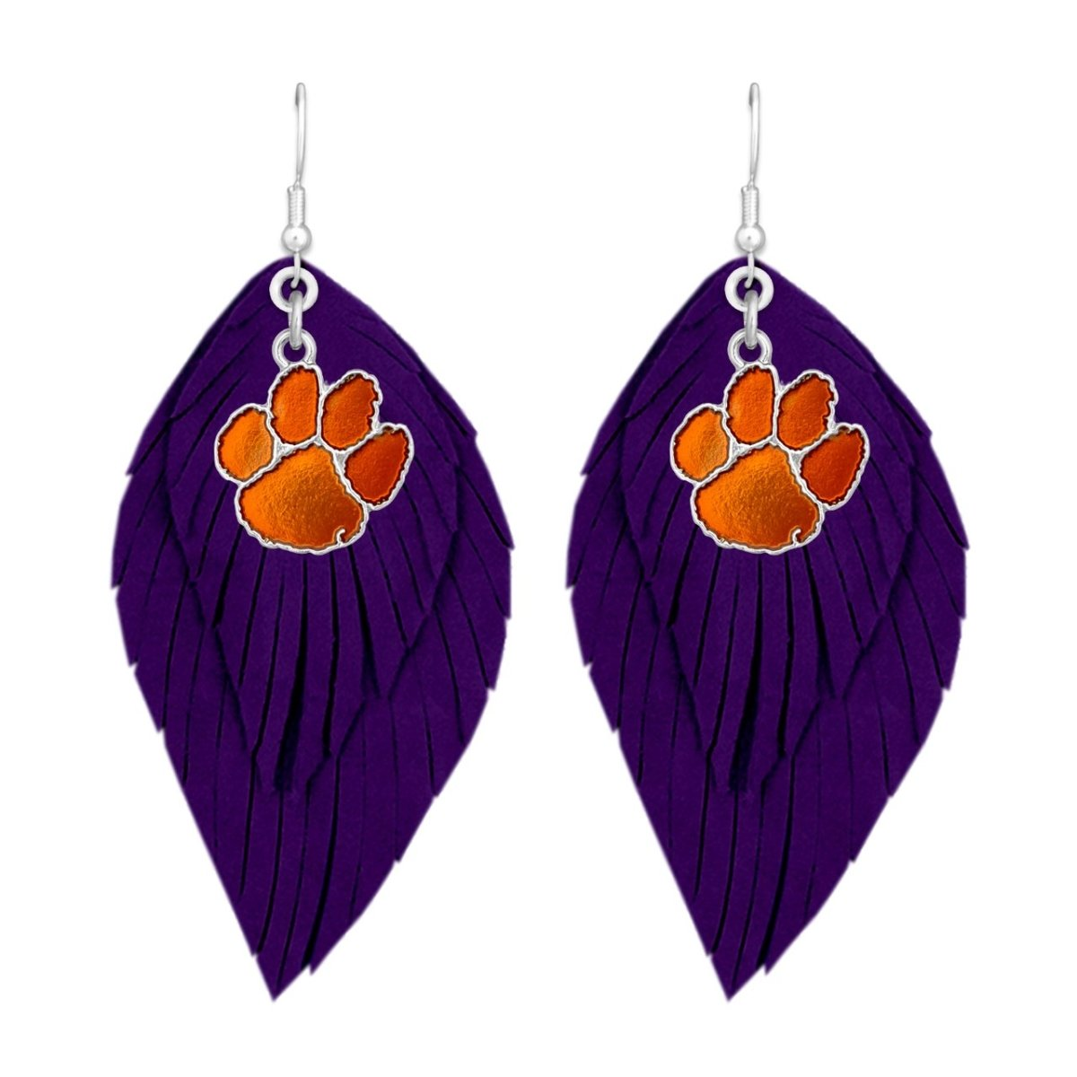 Clemson Boho Earrings - Mr. Knickerbocker