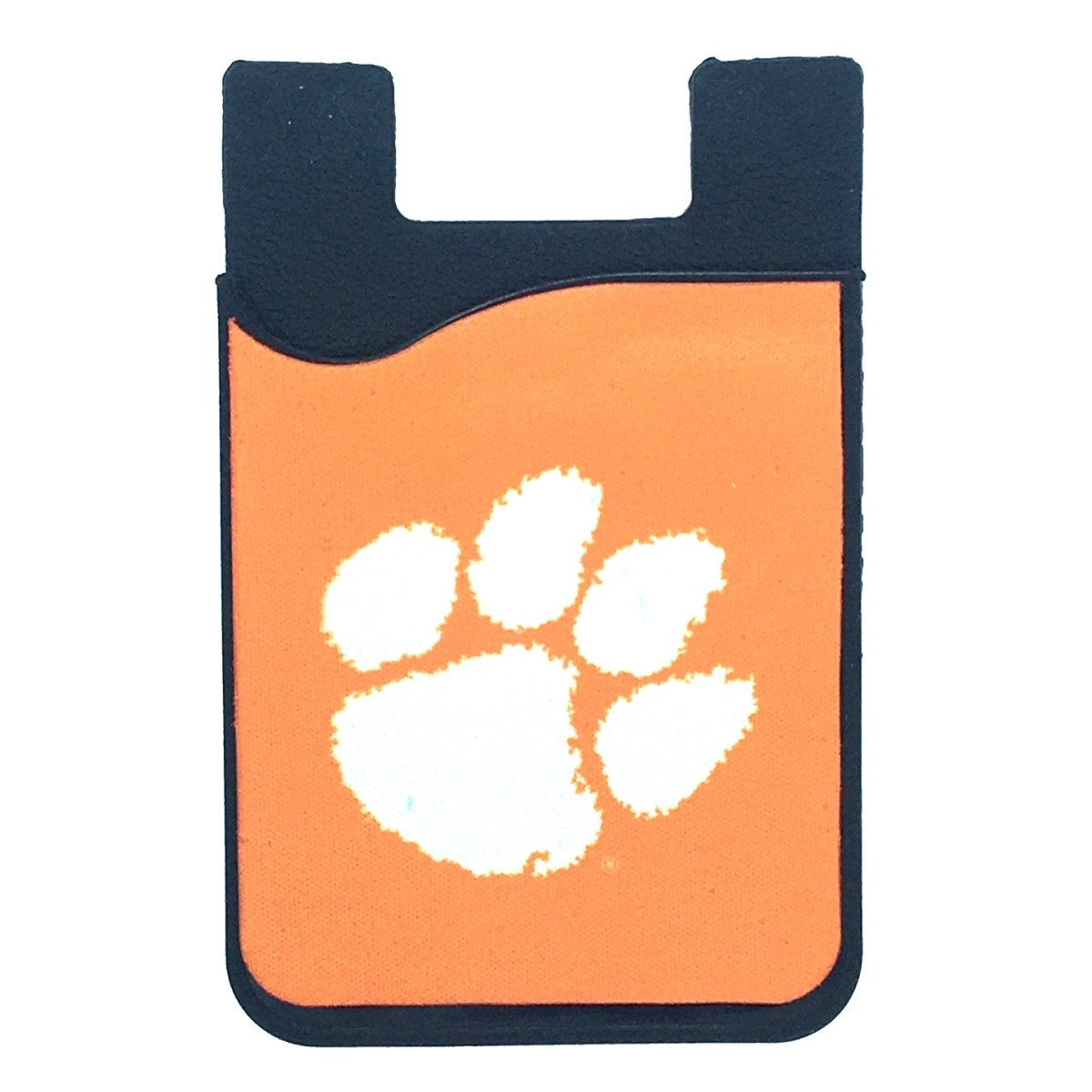Clemson Cell Phone Card Holder with Screen Cleaner - Mr. Knickerbocker