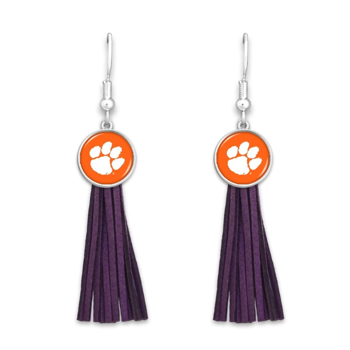 Clemson Harper Tassel Earrings - Mr. Knickerbocker
