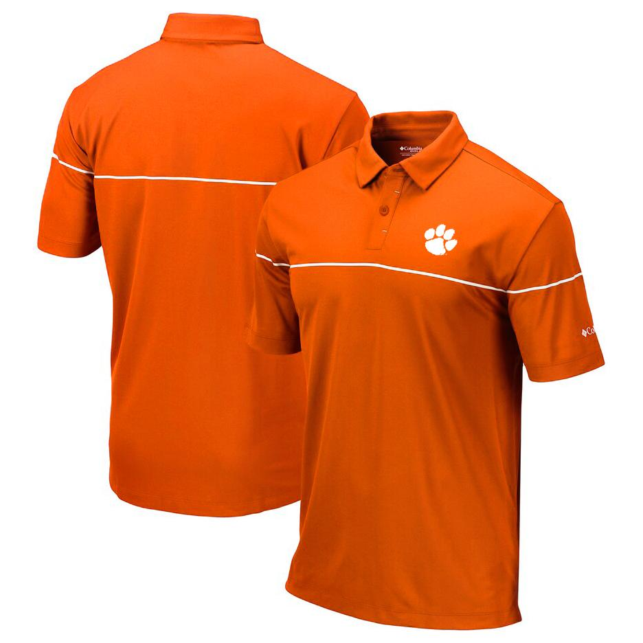 Clemson Omni-Wick Breaker Polo Shirt - Mr. Knickerbocker