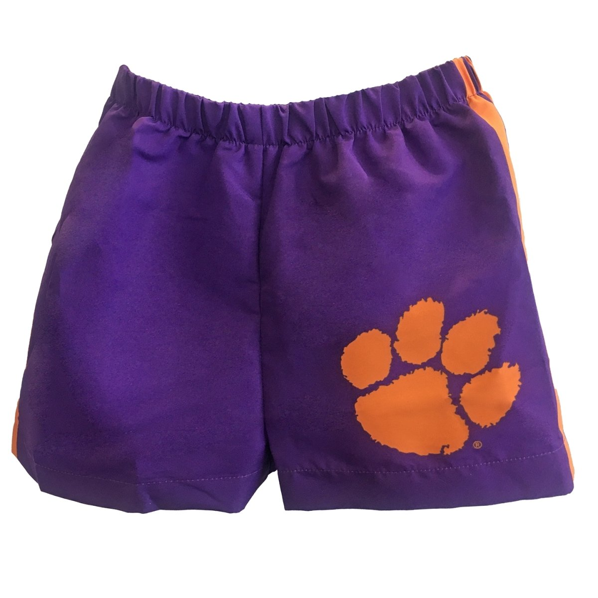 Clemson Short with Paw and Side Stripes - Mr. Knickerbocker