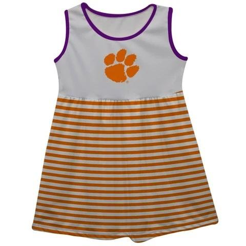 Clemson Sleeveless Dress - Mr. Knickerbocker