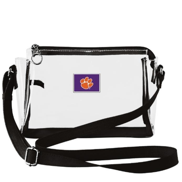 Clemson Small Clear Handbag - Mr. Knickerbocker