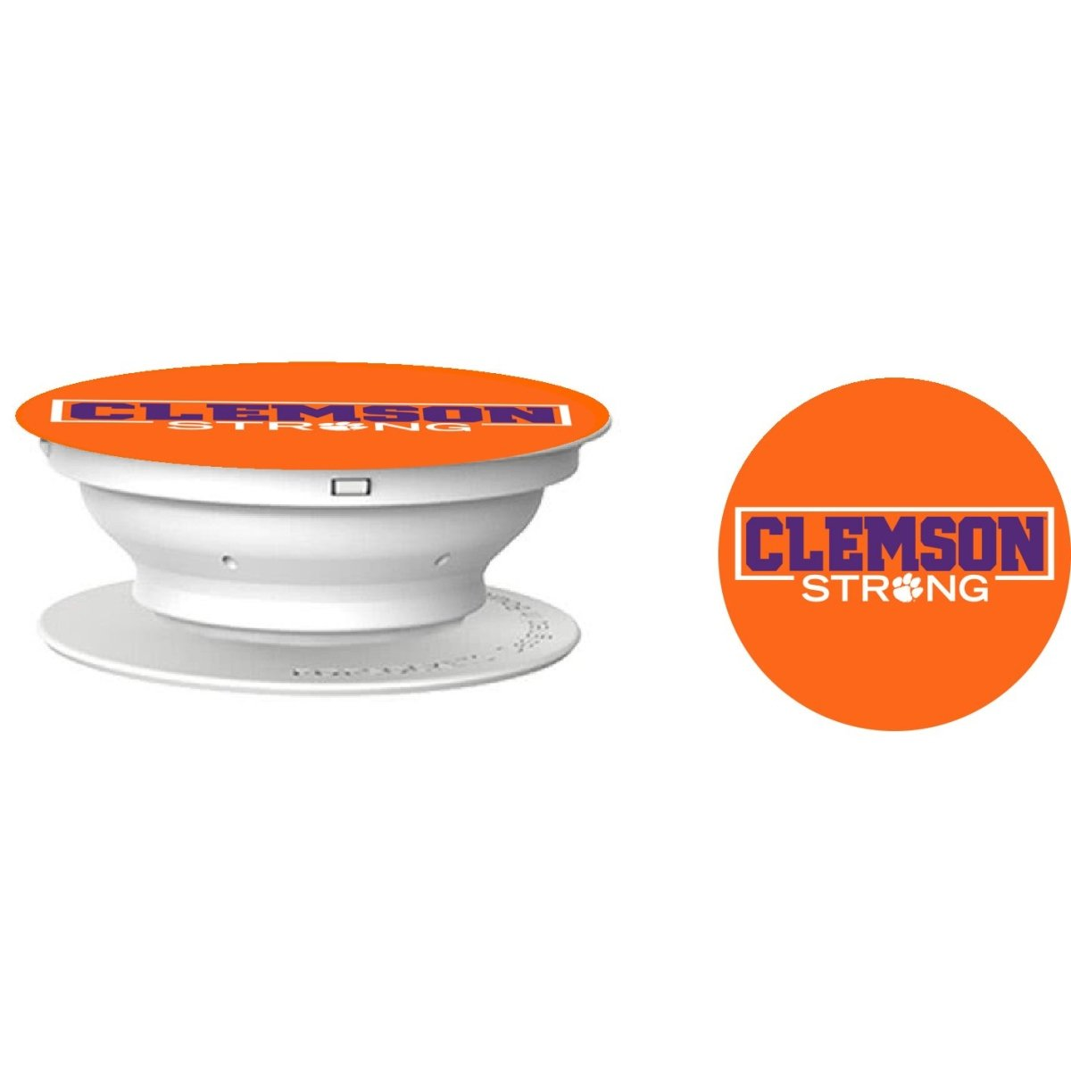 Clemson Strong Phone Popsocket - Mr. Knickerbocker