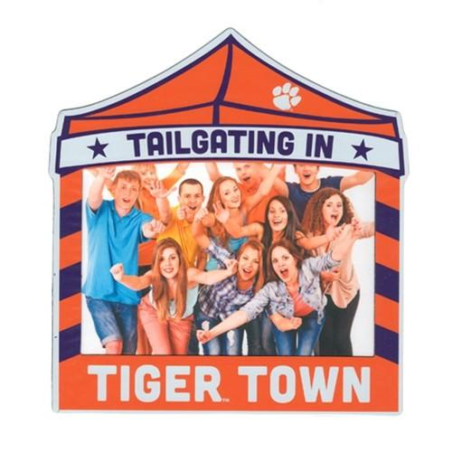 "Clemson Tailgating 4"" X 6"" Magnetic Tailgating Picture Frame - Mr. Knickerbocker"