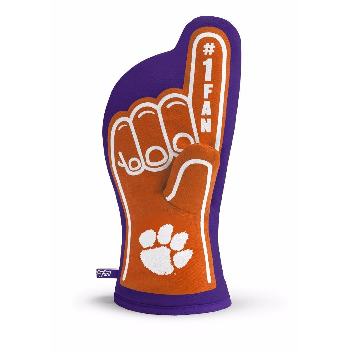 Clemson Tigers #1 Fan Oven Mit - Mr. Knickerbocker