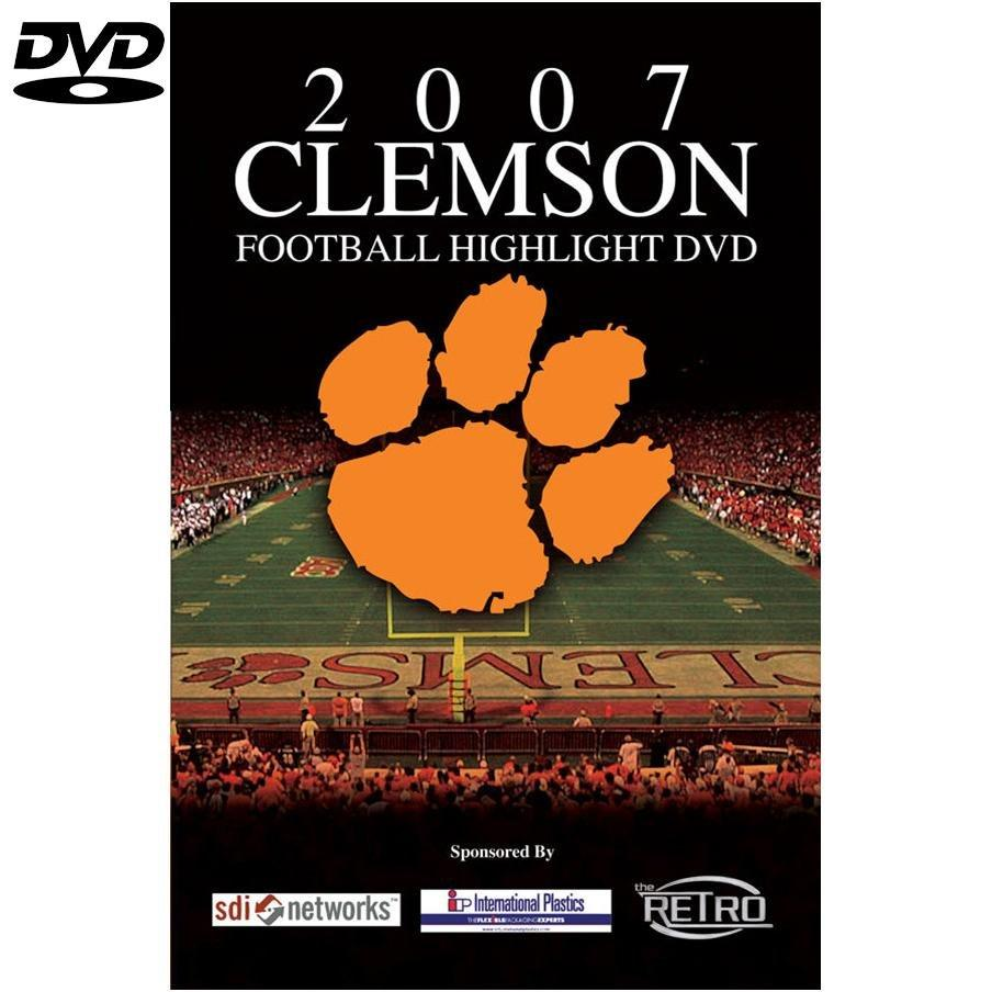 Clemson Tigers 2007 Football Highlights Dvd - Mr. Knickerbocker