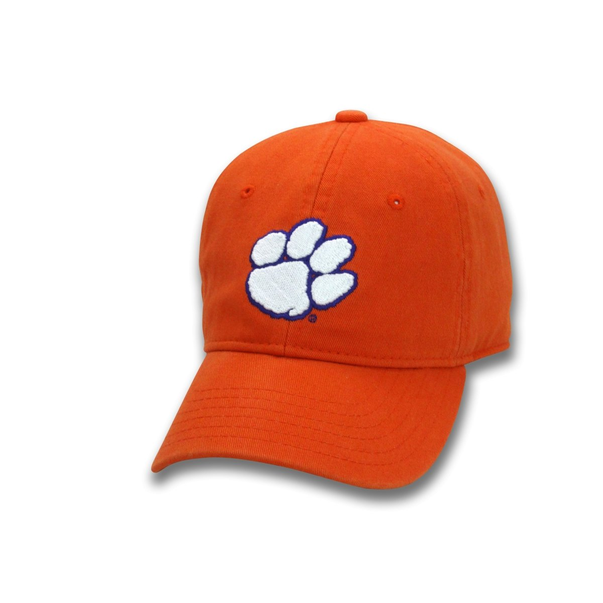 Clemson Tigers Adjustable Youth Hat - Paw on front with Clemson on back strap - Mr. Knickerbocker